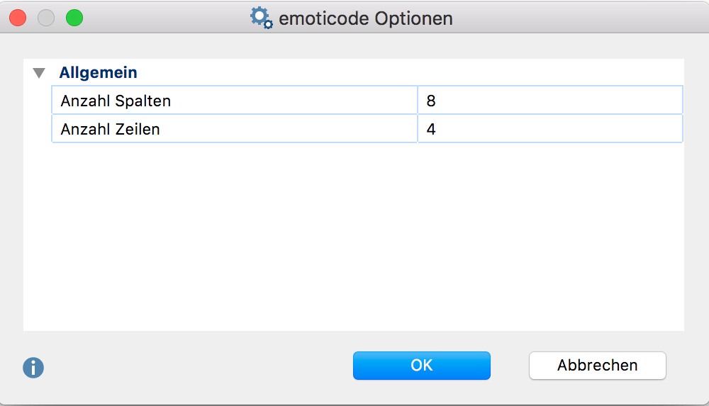 Codes und Codieren_19_DE-Codieren-emoticode-Optionen