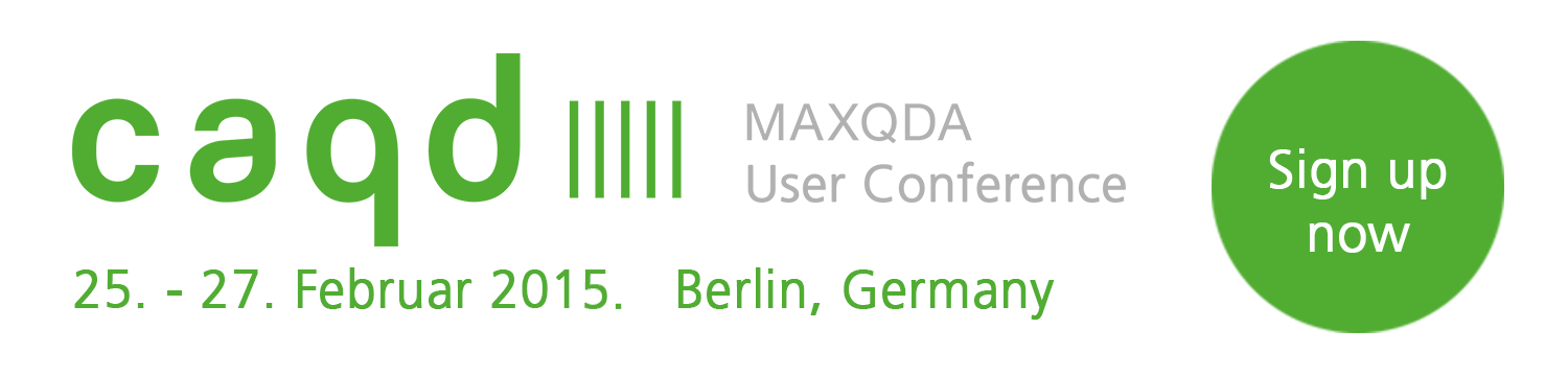 MAXQDA Workshops auf der CAQD - MAXQDA User Conference